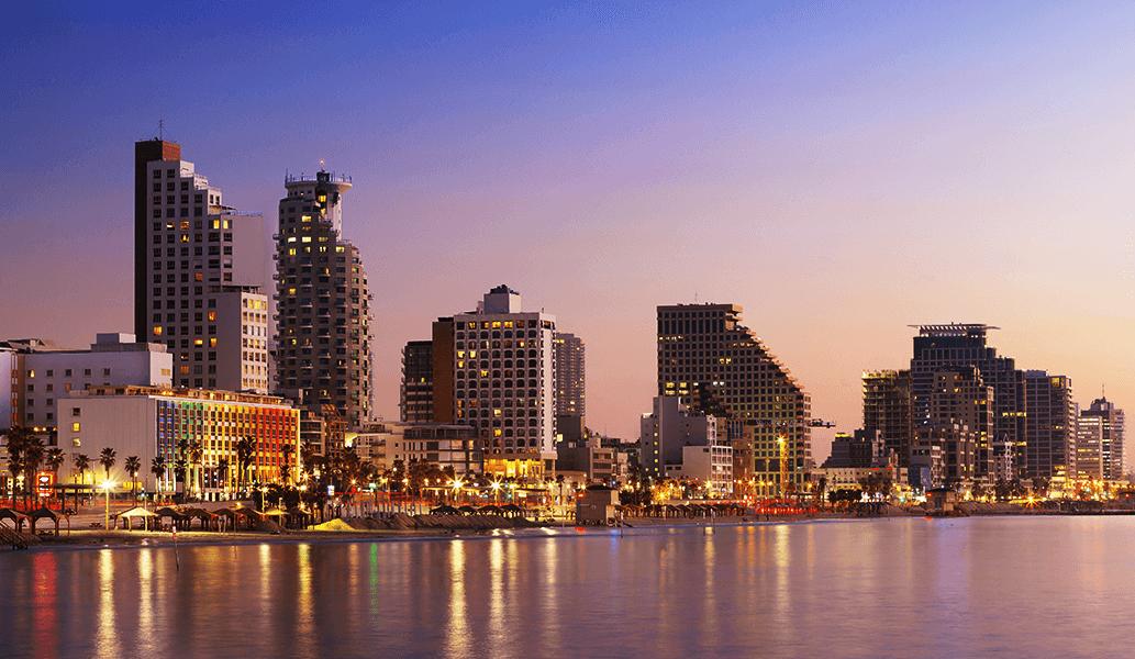 Home page - Tel Aviv panorama